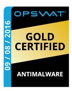 OPSWAT Antimalware Gold 08-09-2016